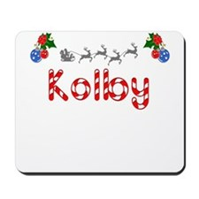 Kolby, Christmas Mousepad