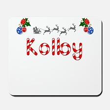Kolby, Christmas Mousepad