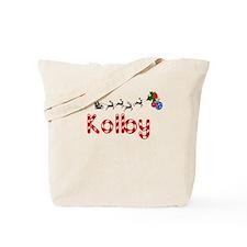 Kolby, Christmas Tote Bag