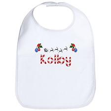 Kolby, Christmas Bib