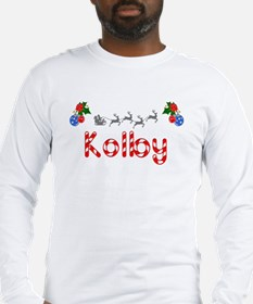 Kolby, Christmas Long Sleeve T-Shirt