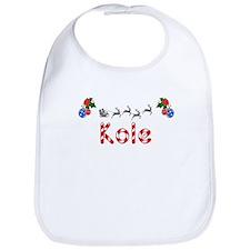 Kole, Christmas Bib