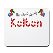 Kolton, Christmas Mousepad