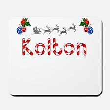 Kolton, Christmas Mousepad