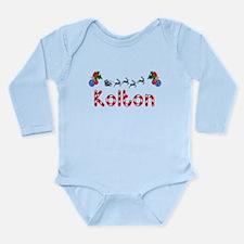 Kolton, Christmas Long Sleeve Infant Bodysuit