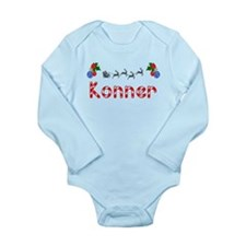 Konner, Christmas Long Sleeve Infant Bodysuit
