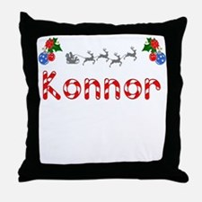 Konnor, Christmas Throw Pillow