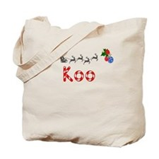 Koo, Christmas Tote Bag