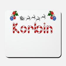 Korbin, Christmas Mousepad