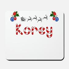 Korey, Christmas Mousepad