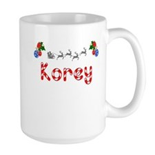 Korey, Christmas Mug