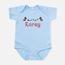 Korey, Christmas Infant Bodysuit