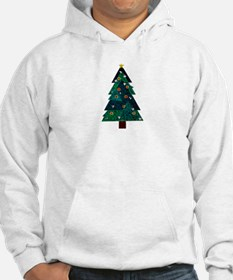 Sweet Stained Glass Christmas Tree Hoodie