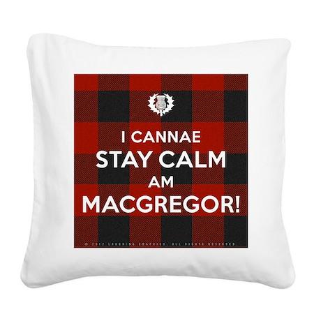 MacGregor Square Canvas Pillow