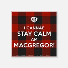 "MacGregor Square Sticker 3"" x 3"""