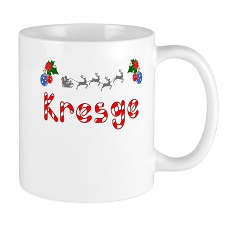 Kresge, Christmas Mug