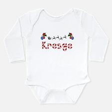 Kresge, Christmas Long Sleeve Infant Bodysuit