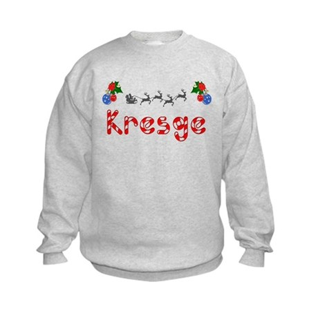 Kresge, Christmas Kids Sweatshirt