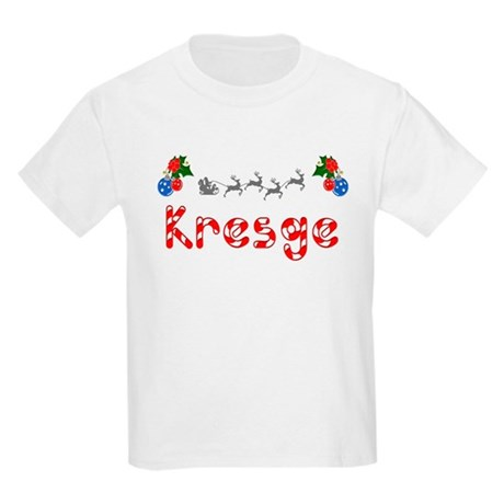 Kresge, Christmas Kids Light T-Shirt