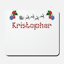 Kristopher, Christmas Mousepad