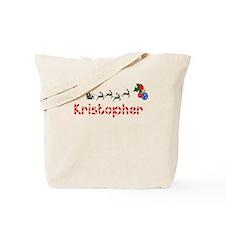 Kristopher, Christmas Tote Bag