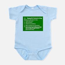 What to do on St. Patricks Day Infant Bodysuit