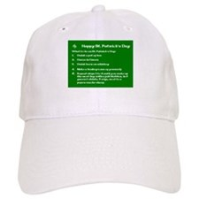 What to do on St. Patricks Day Baseball Cap