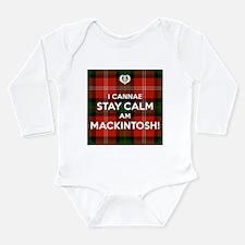 MacKintosh Long Sleeve Infant Bodysuit