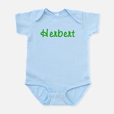 Herbert Glitter Gel Infant Bodysuit