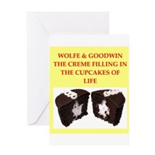 wolfe and goodwin Greeting Card