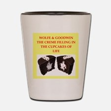 wolfe and goodwin Shot Glass