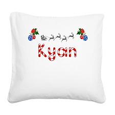 Kyan, Christmas Square Canvas Pillow