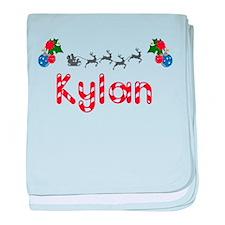 Kylan, Christmas baby blanket
