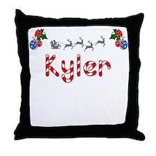 Kyler, Christmas Throw Pillow