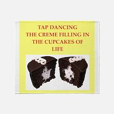 tap dancing Throw Blanket