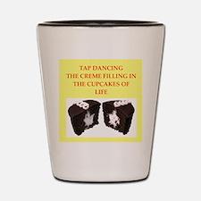 tap dancing Shot Glass
