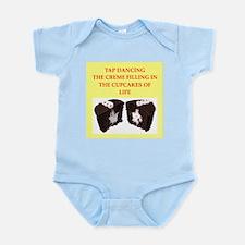 tap dancing Infant Bodysuit