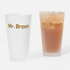 Reservoir Dogs Mr. Brown Drinking Glass