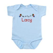 Lacy, Christmas Infant Bodysuit
