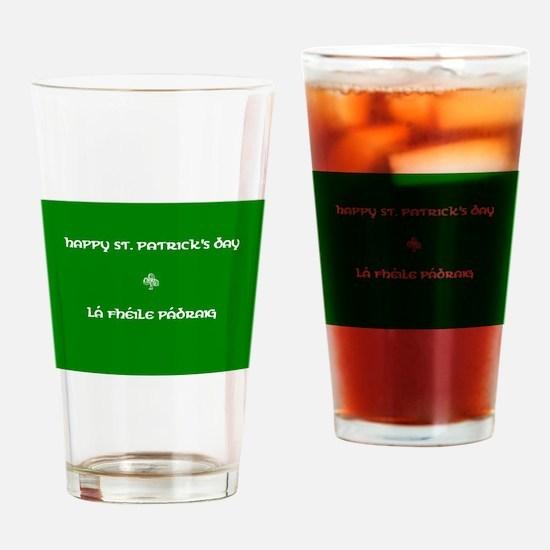 La fheile padraig Drinking Glass
