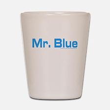 Reservoir Dogs Mr. Blue Shot Glass