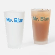 Reservoir Dogs Mr. Blue Drinking Glass