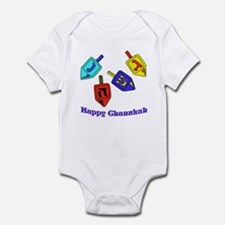Dreidel Time Infant Bodysuit
