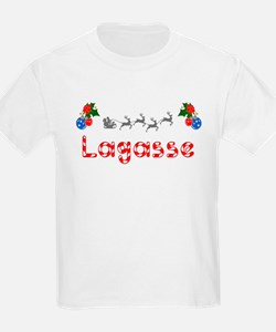 Lagasse, Christmas T-Shirt