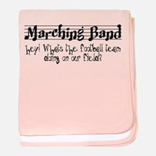 Marching Band baby blanket