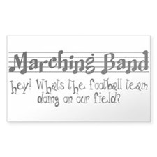 Marching Band Decal