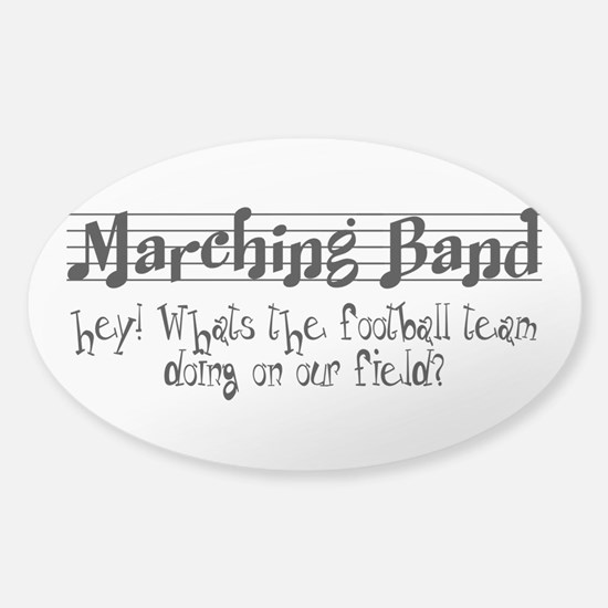 Marching Band Sticker (Oval)