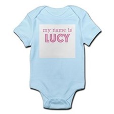 My name is Lucy Infant Bodysuit