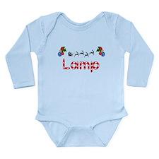 Lamp, Christmas Long Sleeve Infant Bodysuit