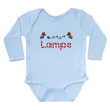 Lampe, Christmas Long Sleeve Infant Bodysuit
